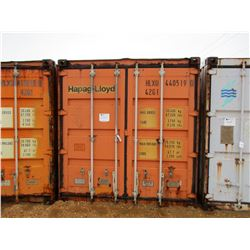 40' STEEL SHIPPING CONTAINER