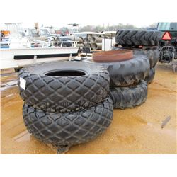 (7) MISC SIZE TIRES