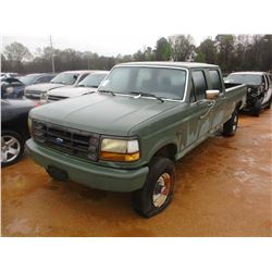1993 FORD F350 PICKUP, VIN/SN:2FTJW36HXPCB10056 - 4X4, V8 DIESEL ENGINE, A/T (DOES NOT RUN) (STATE O