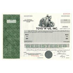 "Toys ""R"" Us, Inc., 1981 Specimen Bond"