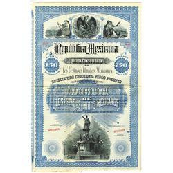 Republica Mexicana, 1885 Specimen Bond