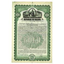 Republic of Panama, 1926 Specimen Bond