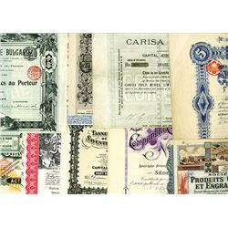 French Bond Assortment ca.1889-1940 Issued Bonds