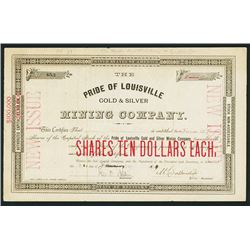 Pride of Louisville Gold & Silver Mining Co.