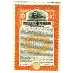 Kansas City and Memphis Railway Co., 1911 Specimen Bond
