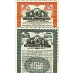 Rock Island, Arkansas and Louisiana Railroad Co., 1910 Bond Pair