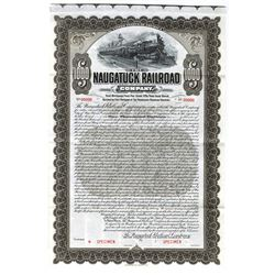 Naugatuck Railroad Co., 1904 Specimen Bond