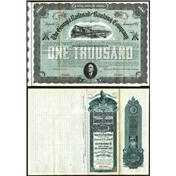 Georgia Railroad and Banking Company, 1907 Specimen Bond.