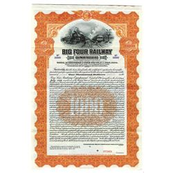 Big Four Railway, 1915 Specimen Bond