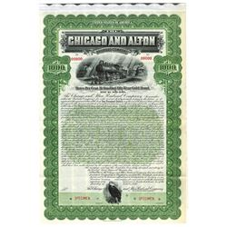 Chicago and Alton Railway Co., 1899 Specimen Bond