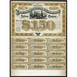 Chicago, St.Louis & Nashville Railway Company Proof Bond.