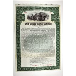 Gary Street Railway Co. 1917 Specimen Bond.