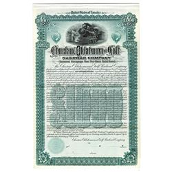 Choctaw, Oklahoma and Gulf Railroad Co., 1894 Specimen Bond