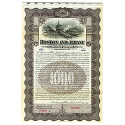 Boston and Albany Railroad Co., 1917 Specimen Bond