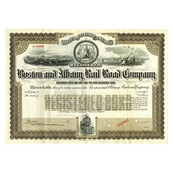 Boston and Albany Railroad Co., ca.1900-1910 Specimen Bond