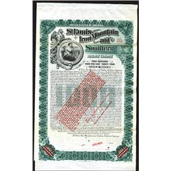 St. Louis, Iron Mountain and Southern Railway Co., 1903 Specimen Bond