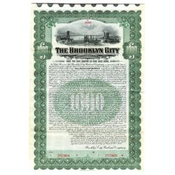 Brooklyn City Railroad Co., 1906 Specimen Bond
