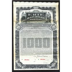 Erie Railroad Co., 1903 Specimen Bond