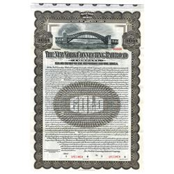 New York Connecting Railroad Co., 1913 Specimen Bond