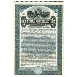 Central New England Railway Co., 1911 Specimen Bond