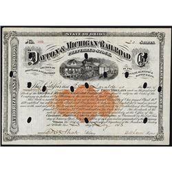 Dayton & Michigan Railroad Preferred Stock, RN-U1 Revenue.