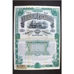 Fort Worth & New Orleans Railway Co. 1885.