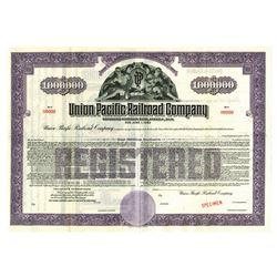 Union Pacific Railroad Co., ca.1920-1930 Specimen Bond
