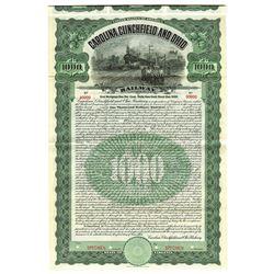 Carolina, Clinchfield and Ohio, 1908 Specimen Bond