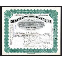 Seattle-Tacoma Short Line. 1908.