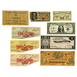 U.S. Banknote Eclectic Assortment.