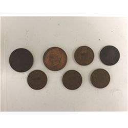 Early U.S. Coin Assortment, ca.1803 to 1870.