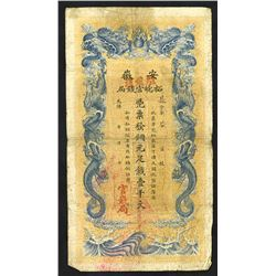 Anhwei Yu Huan Bank, 1909 Cash Issue