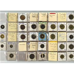 Qing Dynasty, 1636-1912, Collection of 73 Coins