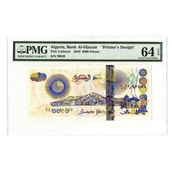 "Bank of Algeria, 2003 Printer's Design ""Sample Dinar"""