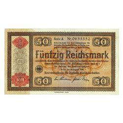 Konversionskasse, 1933 (1934) Issue Banknote.