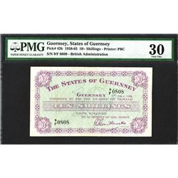 States of Guernsey, 1958 British Administration Issue With Fancy Repeater S/N, 9/F 0808.