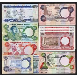 Central Bank of Nigeria. 1967 ND Issue and 1973 and 1984 ND Issues.