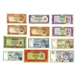 Currency Board and Central Bank, 1973-1995 Issues, Group of 14 Notes