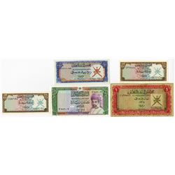 Oman Currency Board Banknote Group.