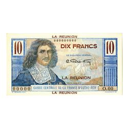 Caisse Central de la France d'Outre Mer, ND (1947), Specimen  Note
