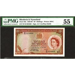 Bank of Rhodesia & Nyasaland. 1960 Issue.