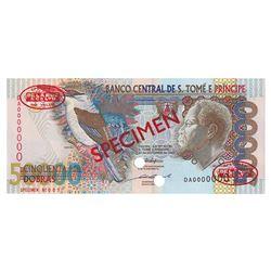 Banco Central de S. Tome e Principe, 1996, Specimen Banknote