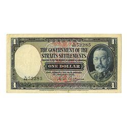 Government of the Straits Settlements, 1935, Issued Banknote