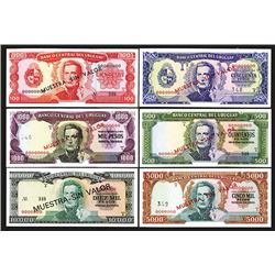 Banco Central del Uruguay. 1967 ND Issue.