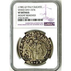 Italian States (Venice), 1789, Silver Ducato