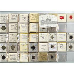 Ottoman Empire, 1389-1876, Collection of 42 Coins
