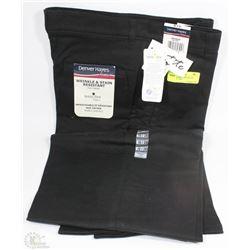 DENVER HAYES LADIES BLACK PANTS SIZE 10X28