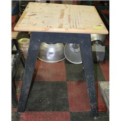 "30"" X 30"" X 35"" TALL METAL & WOOD TABLE SAW STAND"