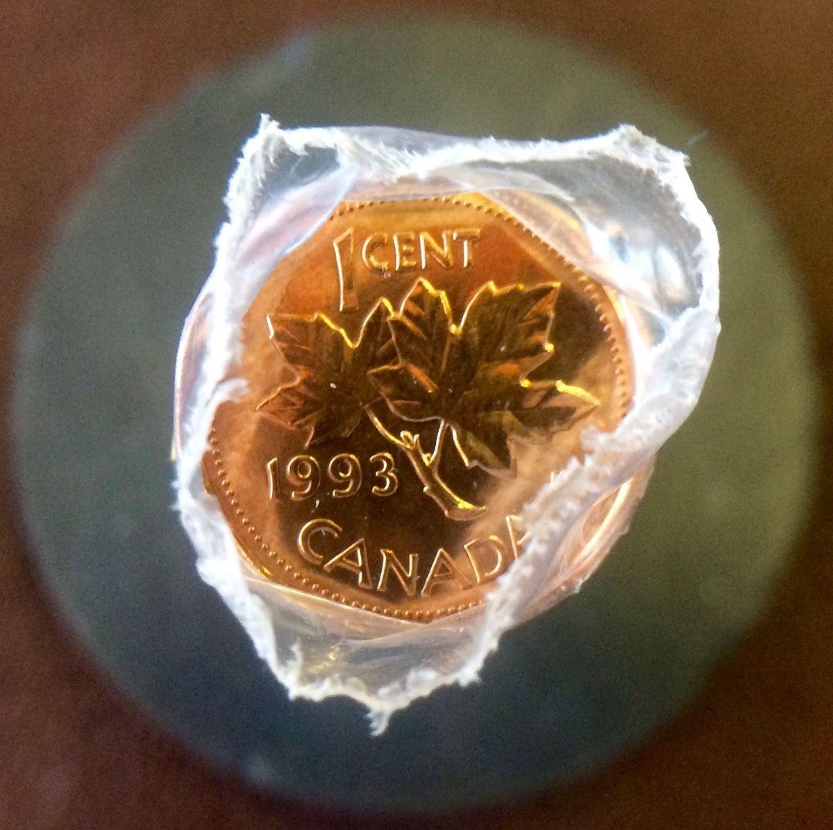Canada 1993 Penny Roll