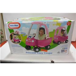 LITTLE TYKES PRINCESS COZY COUPE CAR